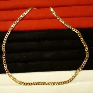 "Other - 24"" 5mm Gold over Stainless Steel Cuban Link"